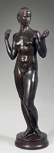 Robert WLERICK (1882-1944) La Rolande (femme nue