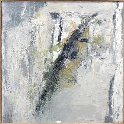 Miklos BOKOR (né en 1927) Composition Huile sur