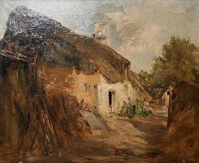 Marie-Ferdinand JACOMIN 1843/48-1902: La ferme