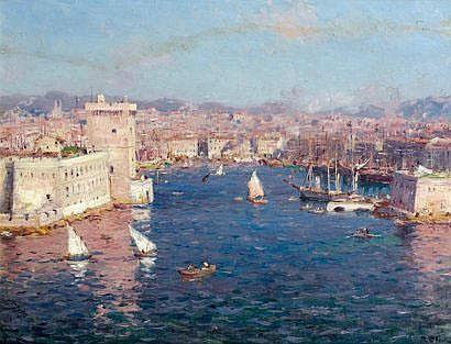 Jean-Baptiste OLIVE (Marseille 1848 - 1936),
