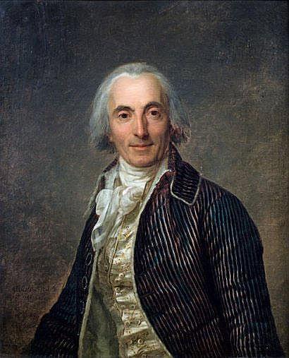 Antoine VESTIER (1740-1824) Portrait de Guillou,