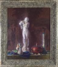 Richard Vernon Goetz - Statue