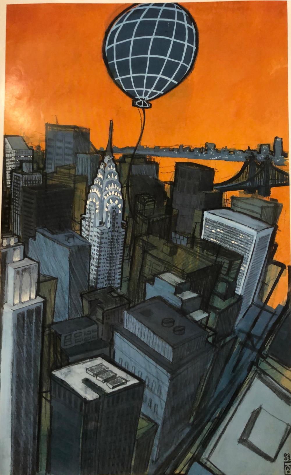 JetBlue Destination  NYC Print
