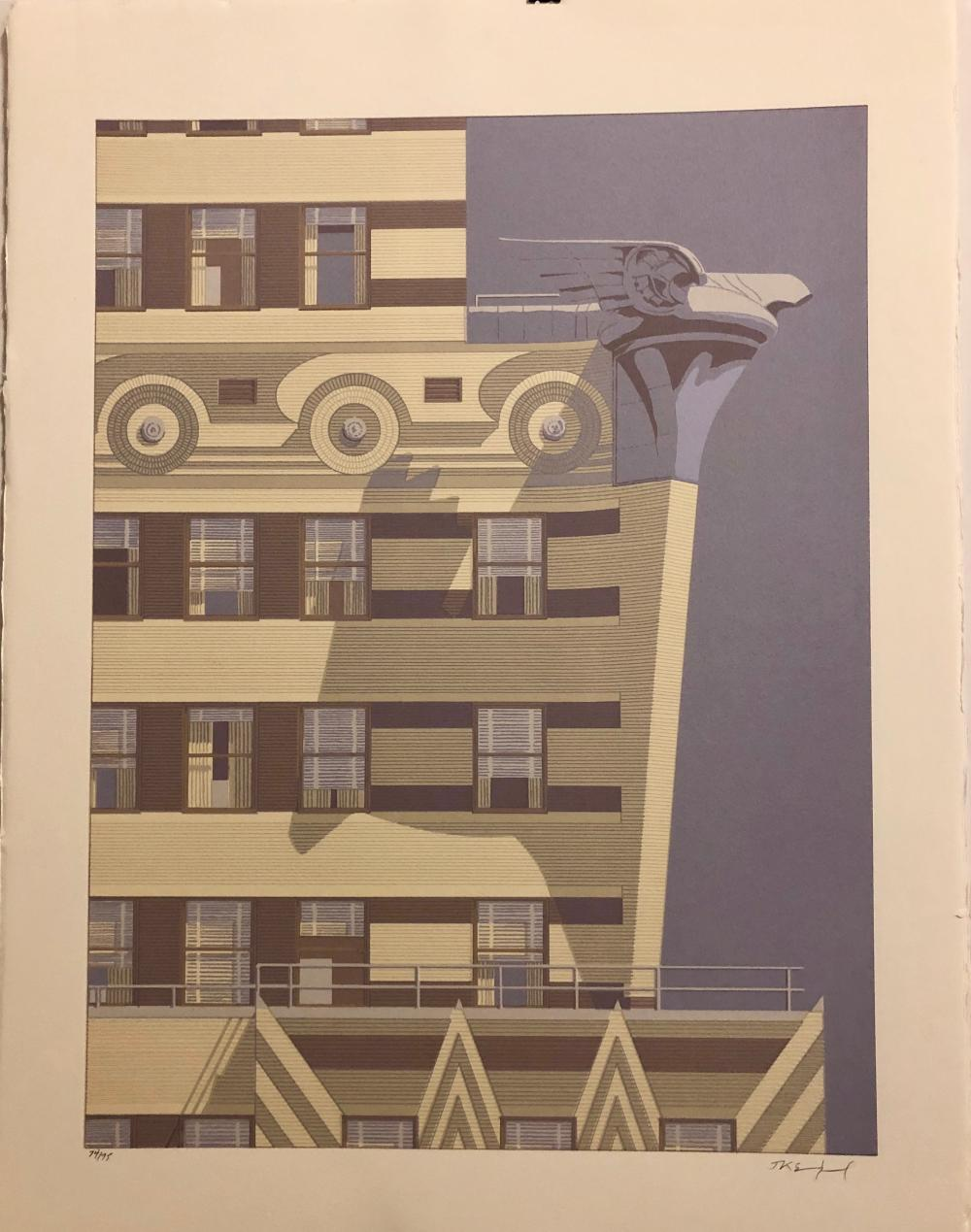 "RARE ""Gotham 1"" JK Sundquist Chrysler Building Detail"