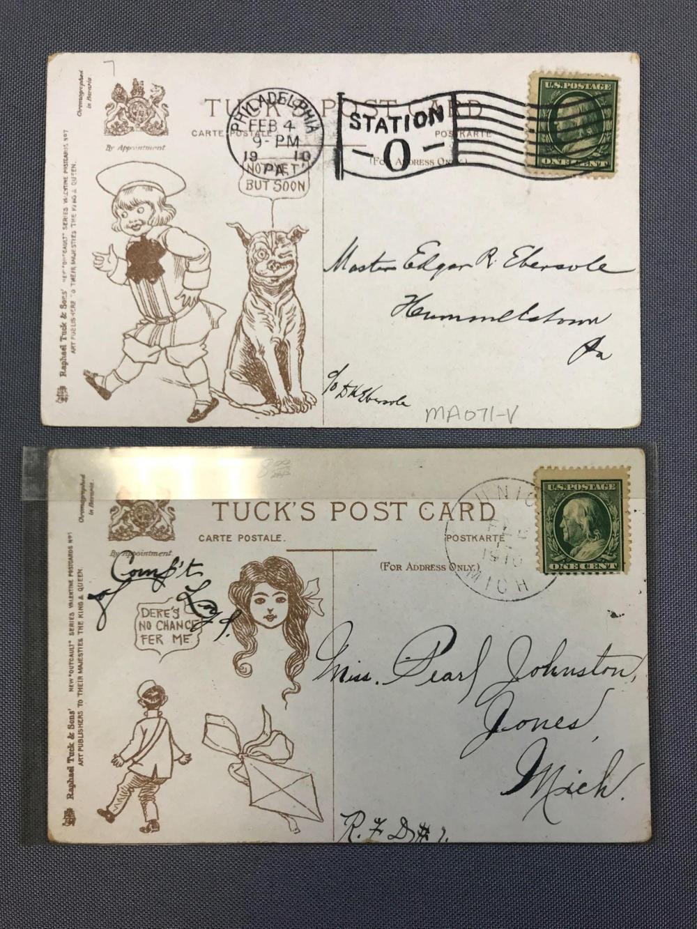from Rafael dating tucks postcards