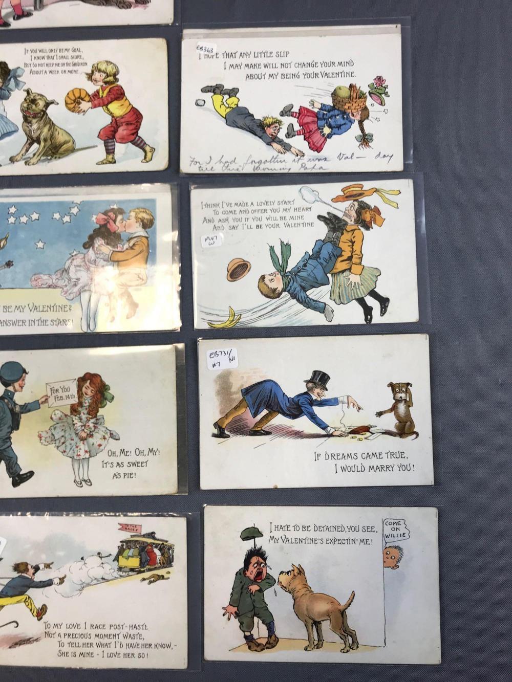 dating tucks postcards