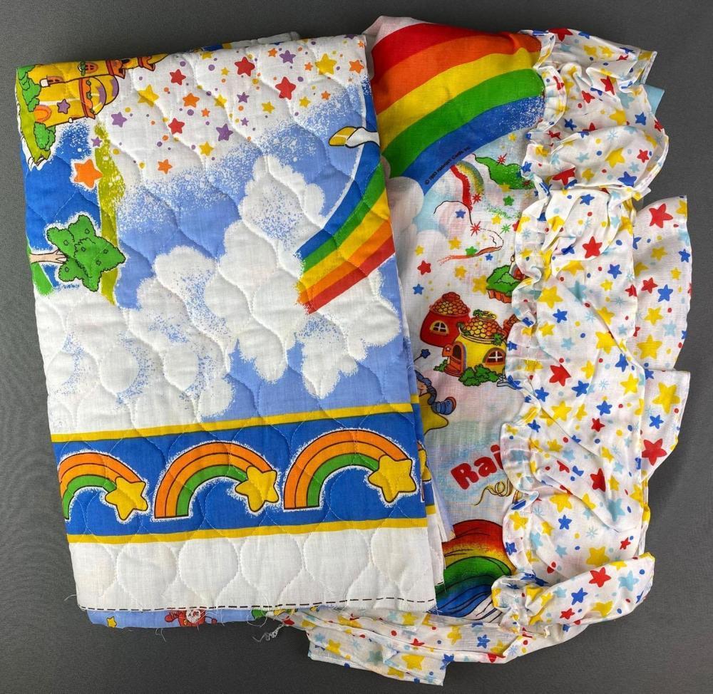 Group of Rainbow Brite Merchandise