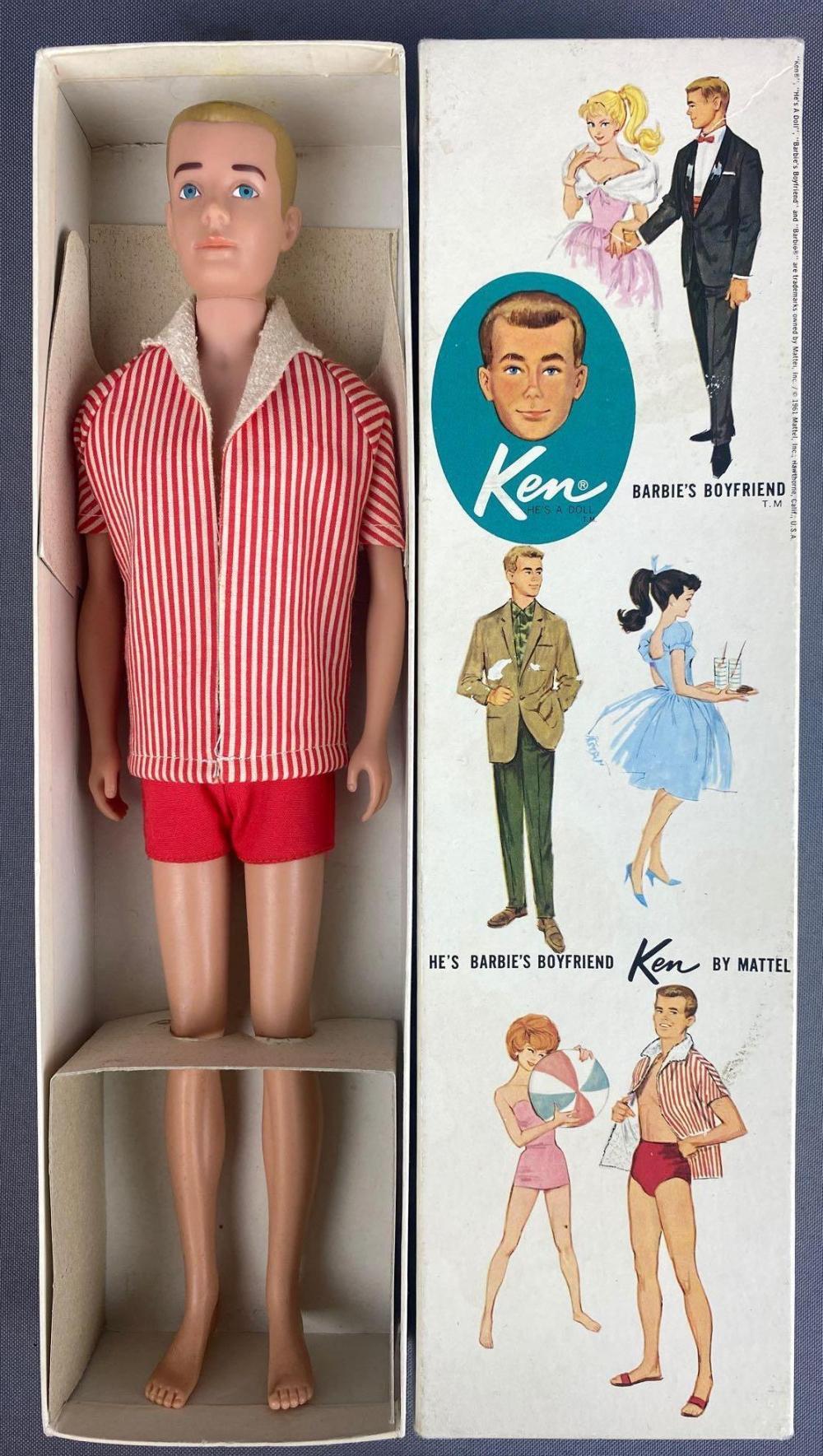 1960 Ken-Barbies Boyfriend- Fashion Doll