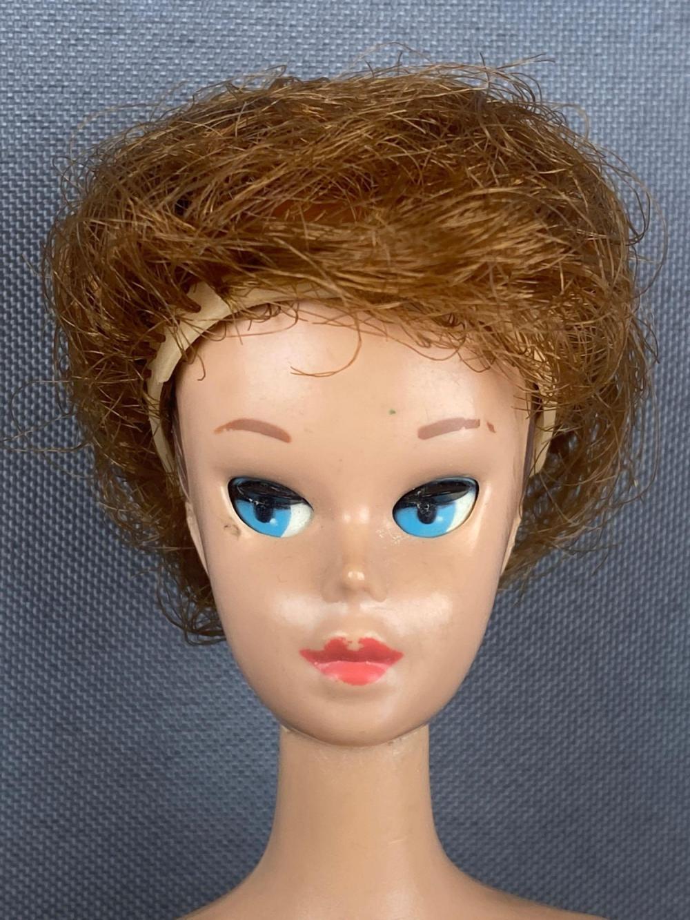 1958 Sleepy-eye Miss Barbie Fashion Doll with Wig