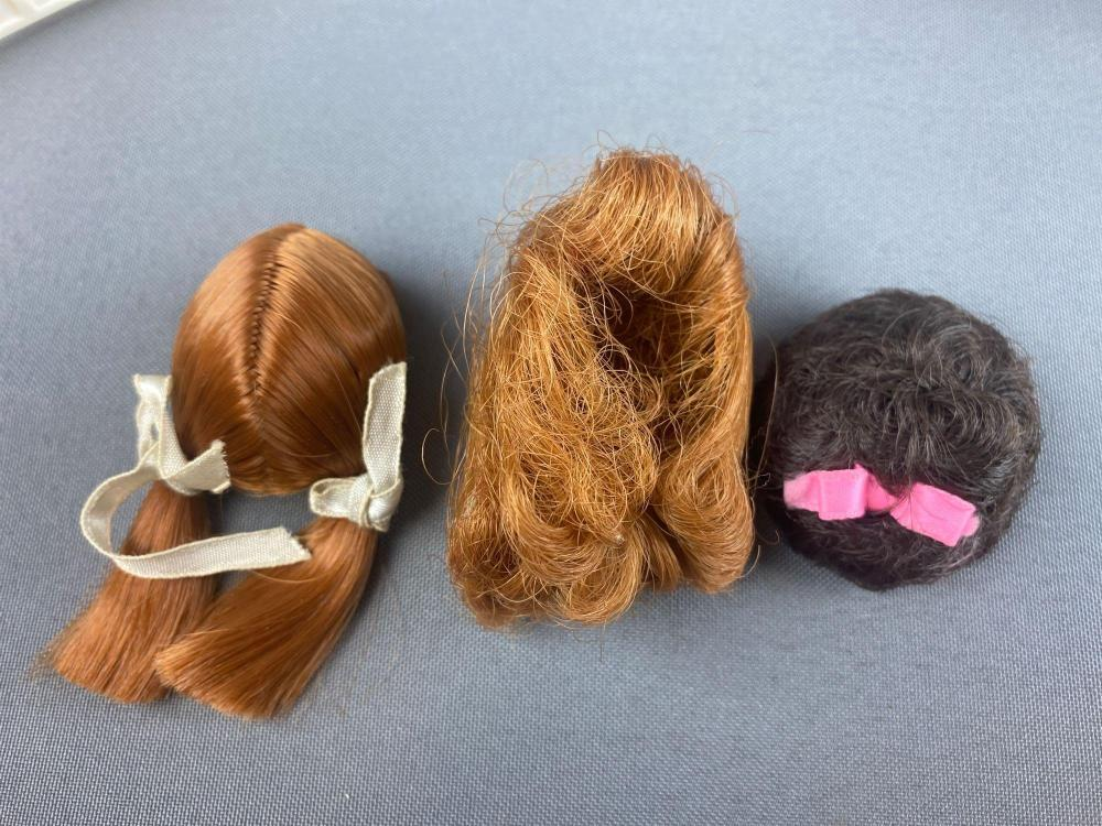 1958 Barbie molded hair Dolls with wigs