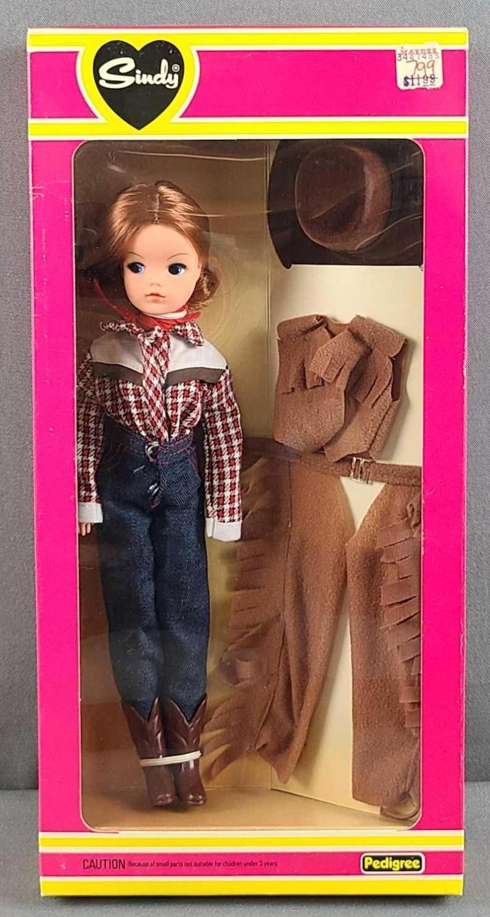 Sindy Western World doll