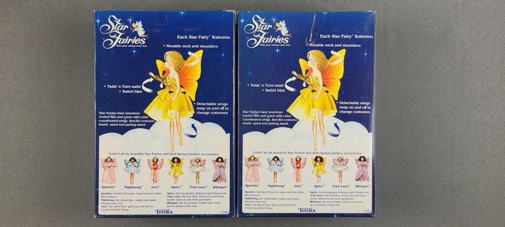 2 Star Fairies dolls