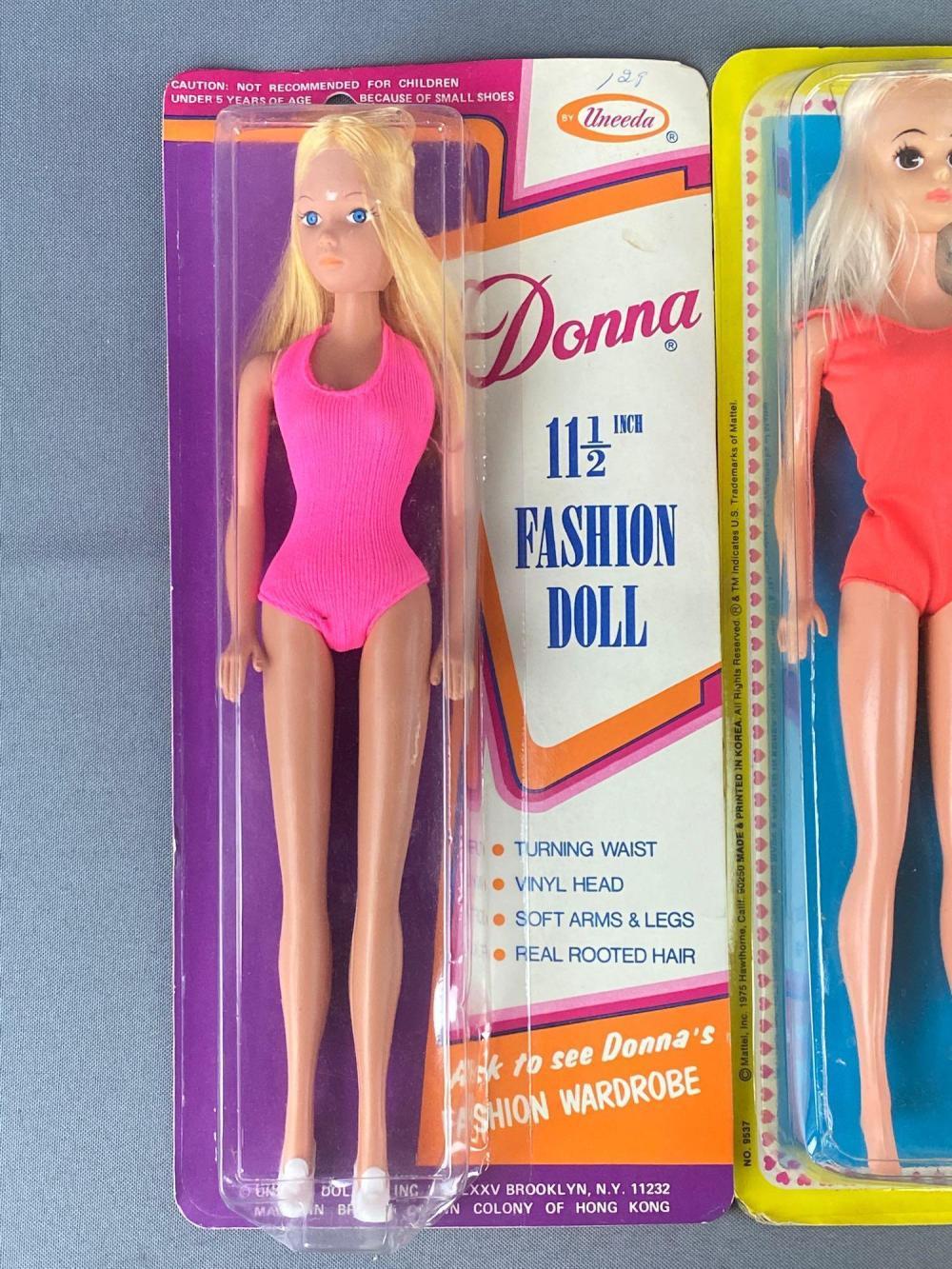 3 piece group Fashion Dolls and Doll Fashion