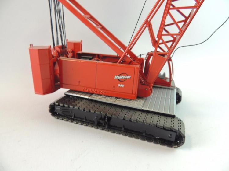 Manitowoc 555 Die-Cast Model Crawler Crane for Parts