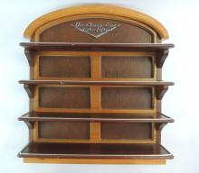 The Classic Cars Of The 50's Wooden Shelf