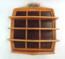 The Classic Cars Of The 60's Wooden Shelf