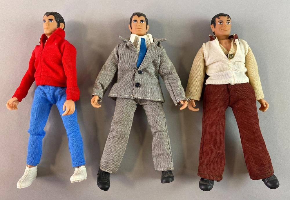 Group of 3 Mego DC Action Figures
