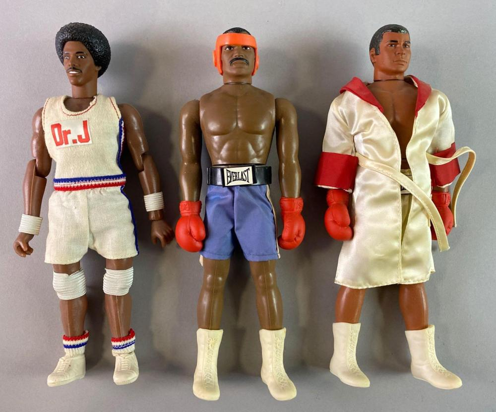 Group of 3 Sports Action Figures