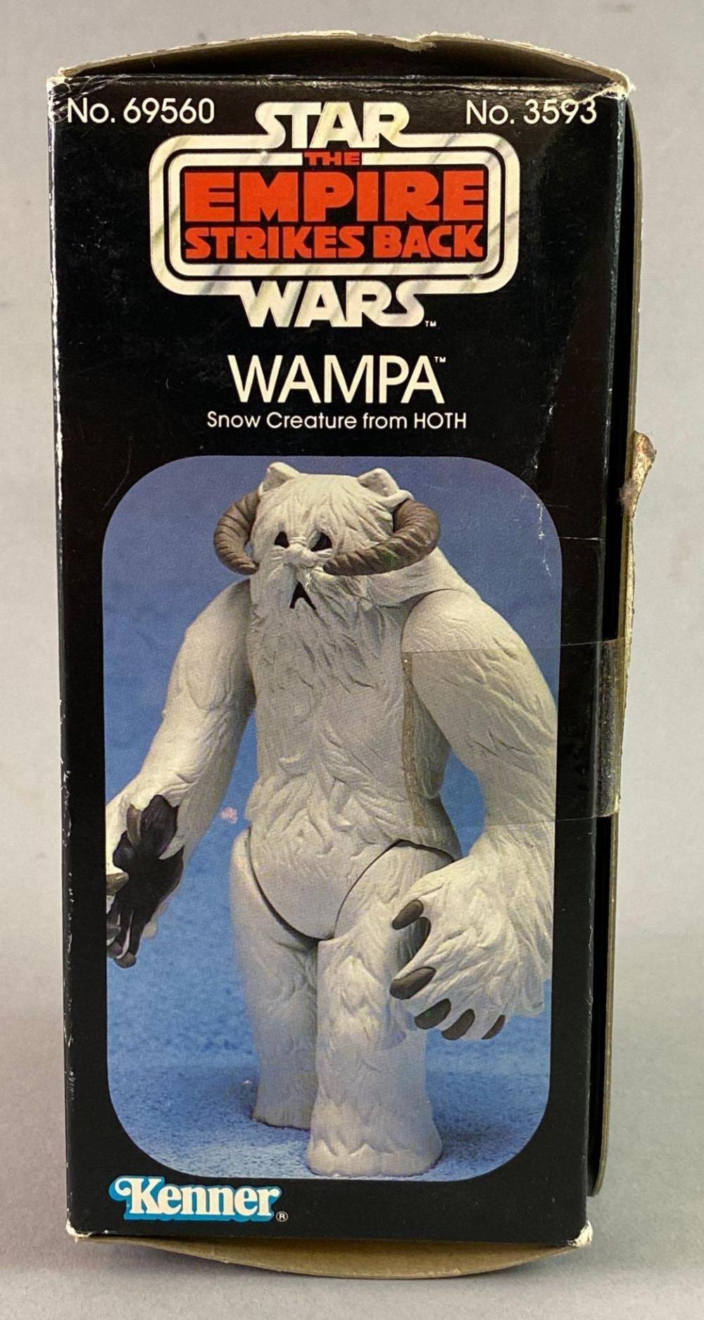 1981 Kenner Star Wars ESB Wampa NIB Action Figure.