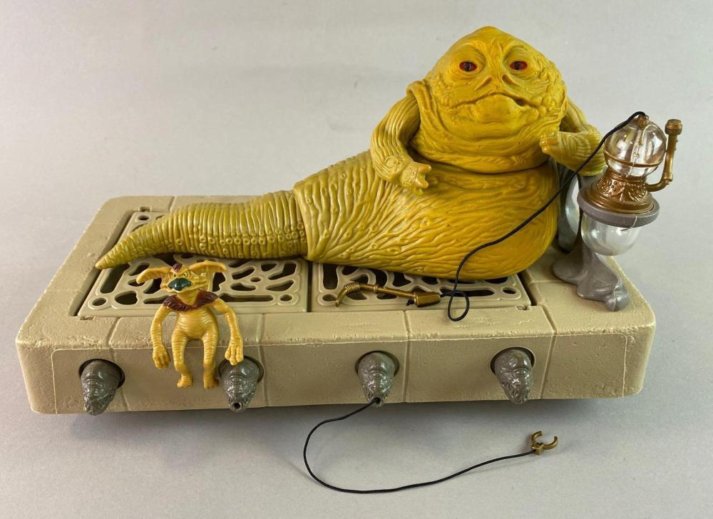 1983 Star Wars ROTJ Jabba and Dias Complete Set.