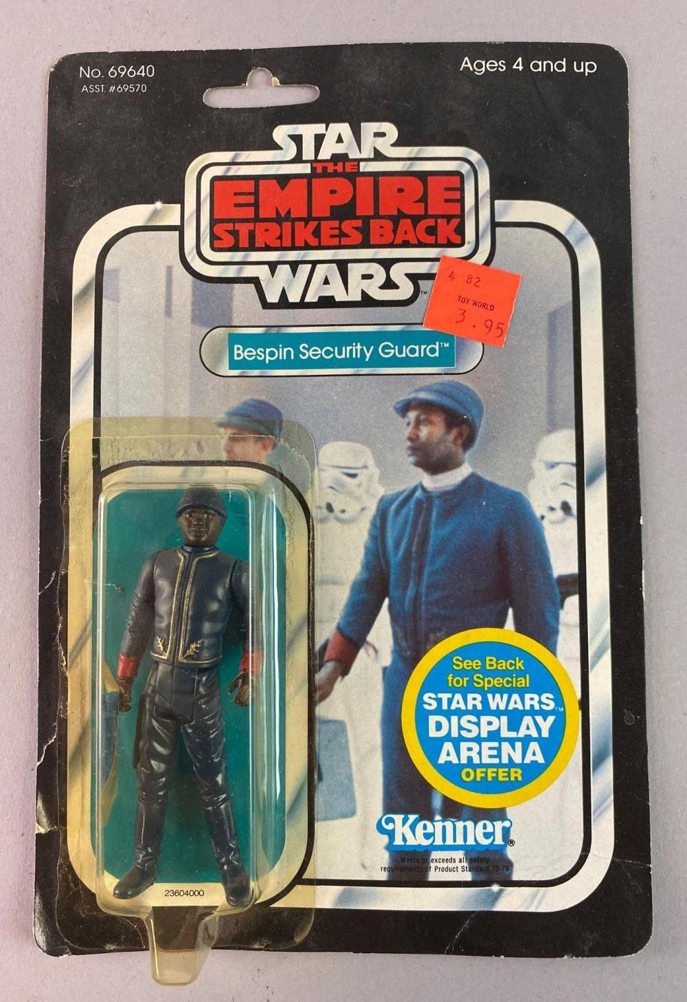 Kenner Star Wars ROTJ Black Bespin Security Guard Action Figure