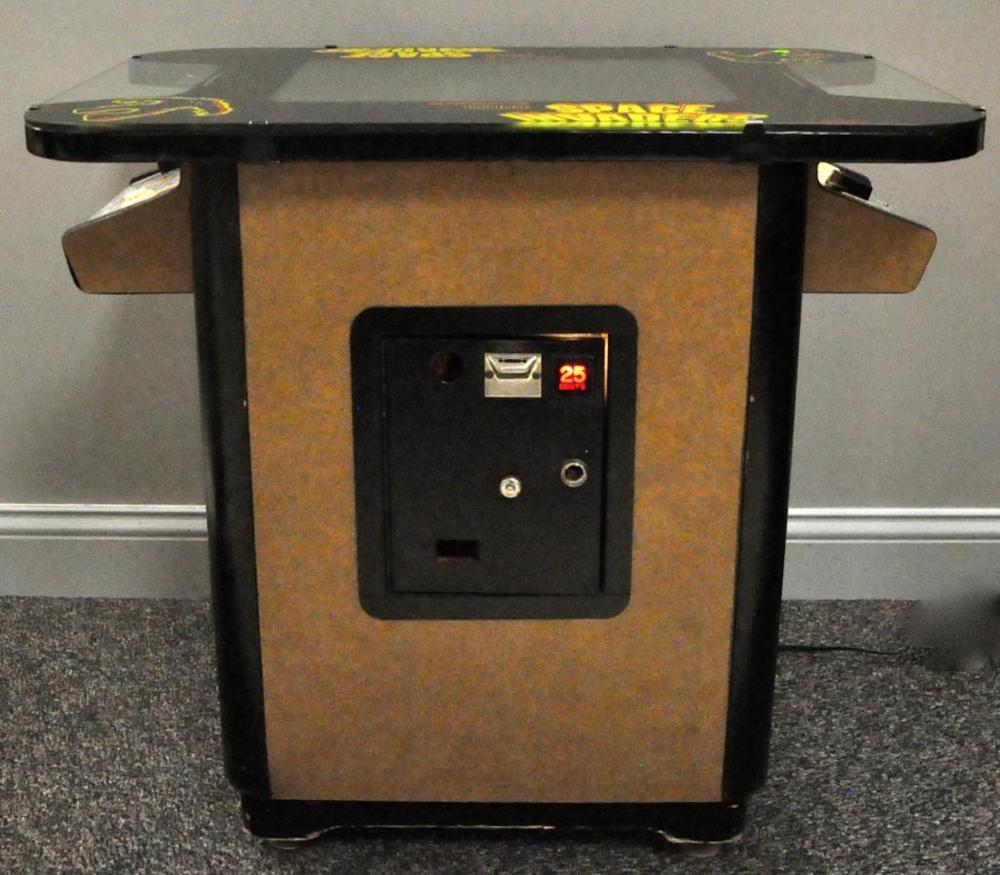Midway Deluxe Space Invaders Cocktail Table Arcade Cabinet