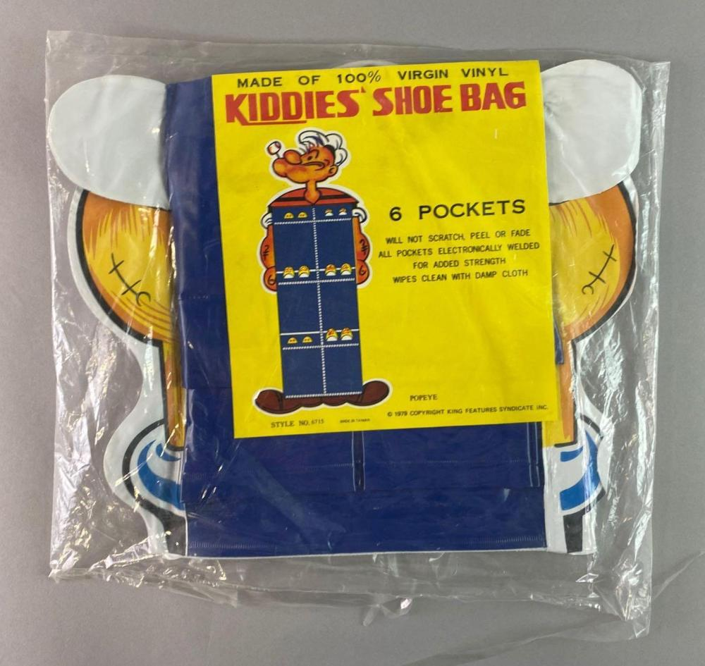 Popeye the Sailor Kiddies Shoe Rack