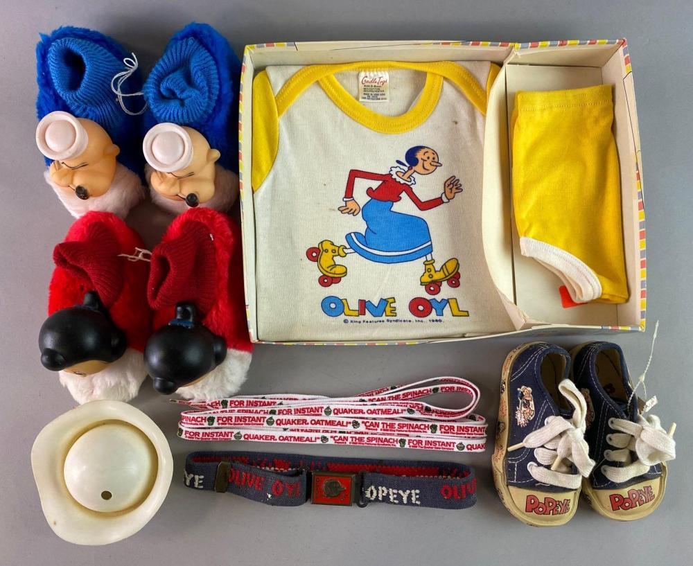 Group of 10 Popeye Clothing.