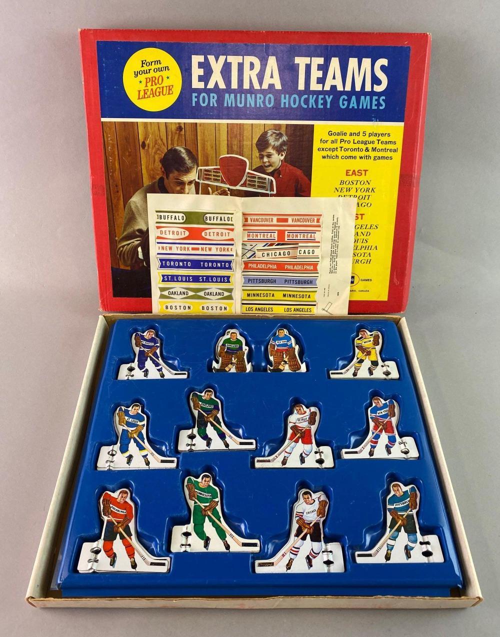 Munro Hockey Games Extra Teams