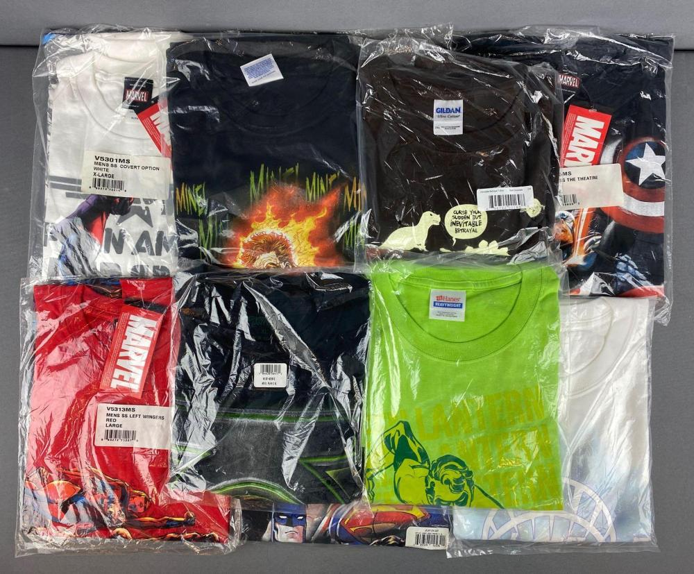 Group of 10 assorted T-Shirts