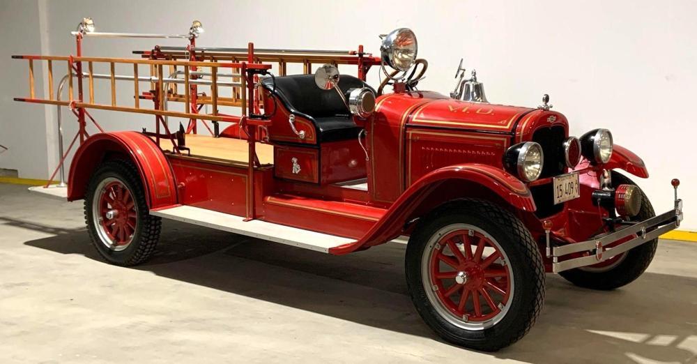 1927 Chevrolet Fire Truck Varna Illinois