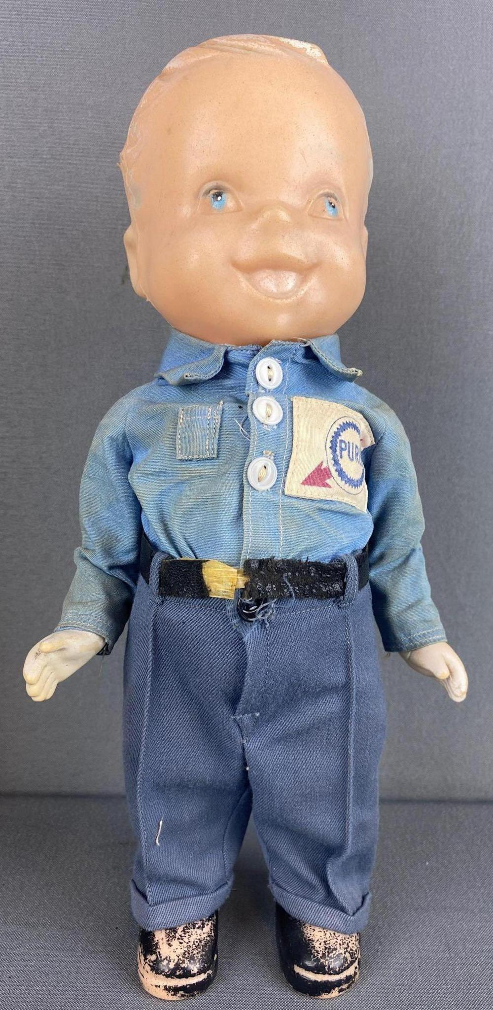 Lion Uniform advertising doll-Gulf Oil