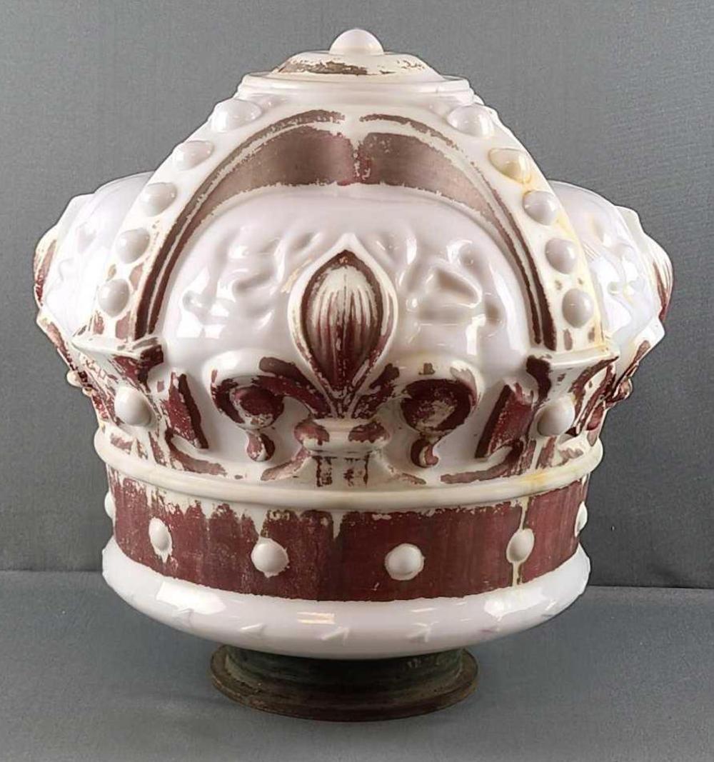 Standard oil crown globe