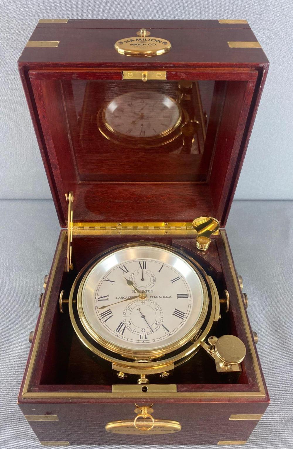 Hamilton Watch Co. Marine Chronometer