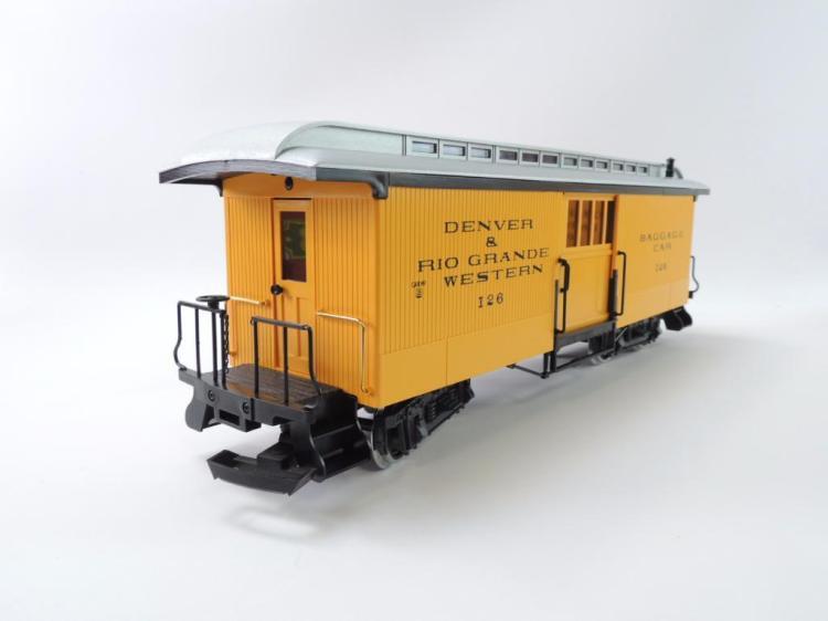 Group Of 2 LGB Trains Denver & Rio Grande Western G-Scale Tr