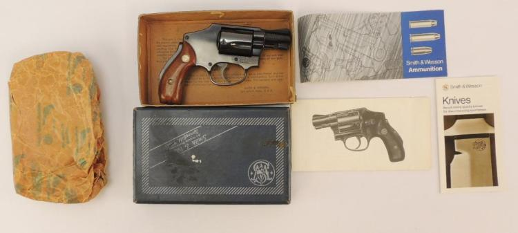Smith and Wesson Model 40 38 Spl  S&W Snub Nose Revolver
