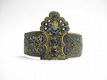 A BUCKLE FROM AN ENGAGEMENT BELT (KORONA), THRACE, NORTHERN GREECE, LATE 18TH CENTURY