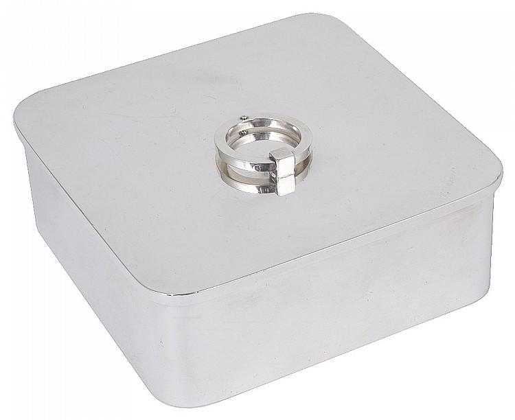 a danish box georg jensen copenhagen post 1945. Black Bedroom Furniture Sets. Home Design Ideas