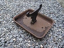 Victorian Cast Iron Foot Scraper 10 Inches Wide