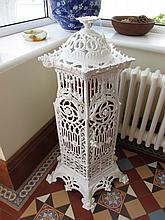 Cast Metal Antique Candle Holder 30 Inches High