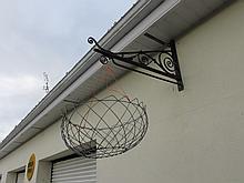 Wrought Iron Hanging Basket and Hanging Bracket 20