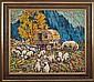 Mikhail Bogatyrev (1924-1999)- Untitled (Sheep Grazing Scene)