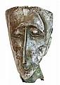 Hannah Holliday Stewart (1924-2010) - Untitled (Head of a Man)