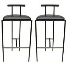Pair of Bieffeplast Barstools Designed by Rodney Kinsman, Italy, 1980