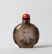 CHINESE PAINTED SNUFF BOTTLE, ZHANG ZENGLOU