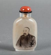 CHINESE INTERIOR PAINTED SNUFF BOTTLE, MA SHAOXUAN