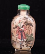 CHINESE INTERIOR PAINTED SNUFF BOTTLE