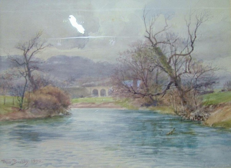 Thomas Bushby (1861-1918) Watercolour