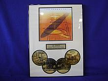 Led Zeppelin 24 kt gold plated CD set