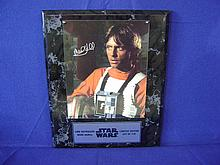 Autographed photograph of Mark Hamill in
